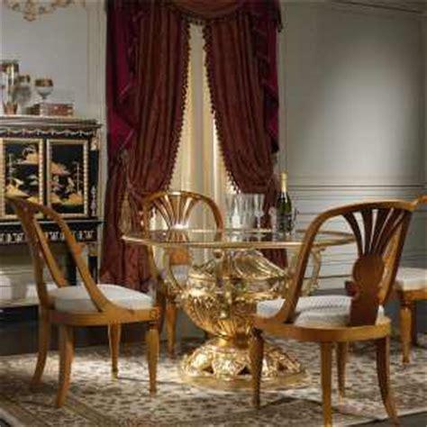 sale da pranzo di lusso tavolo lusso cristallo vimercati meda