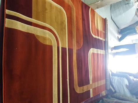 Karpet Permadani 170cm X 230cm karpet extacy motiv 377 brown ukuran 170cm x 230cm hjkarpet