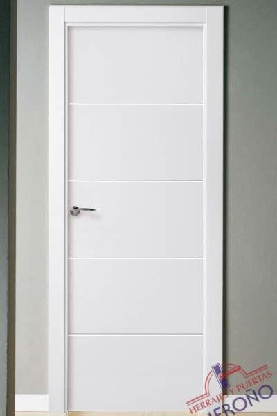 puertas blancas interior puertas lacadas blancas de interior mod mml4