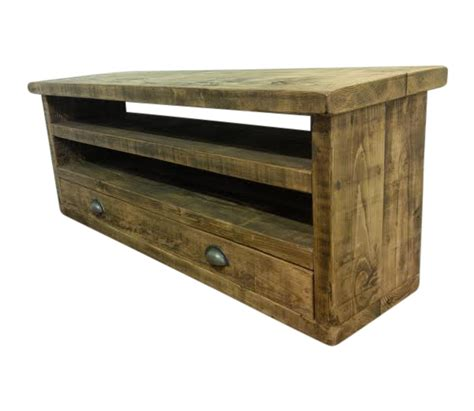 Rustic Furniture by The Merlin Tv Unit Ely Rustic Furniture