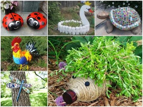 Home Decor With Wine Bottles by 10 Diy Garden Creature Ideas Made From Recycled Materials