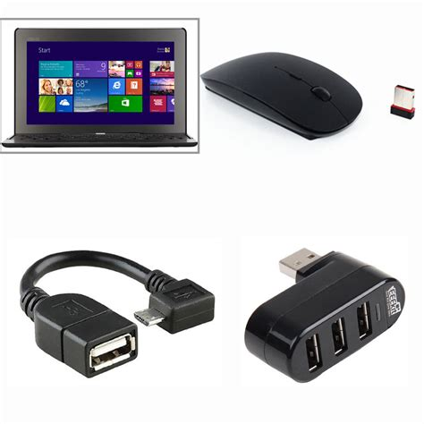 Usb Otg Asus eeekit otg cable usb hub mouse office kit for asus