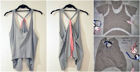 how to make a shirt how to make t shirts into tank tops diy tag