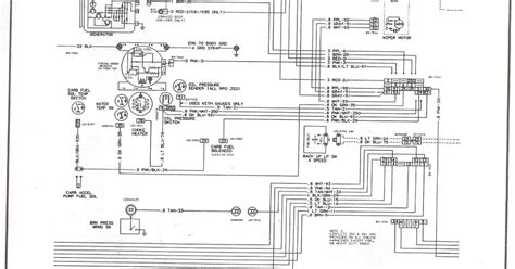 1987 chevy truck wiring diagram 28 images 1987 chevy