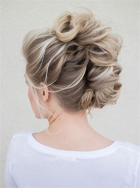brady braided formal updo bridal faux hawk for the edgy bride mohawks hair makeup