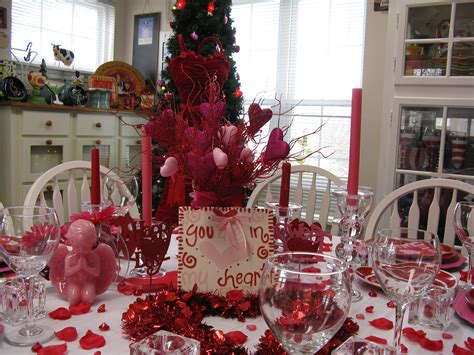 valentines table decorations 33 adorable red colour valentine decoration ideas