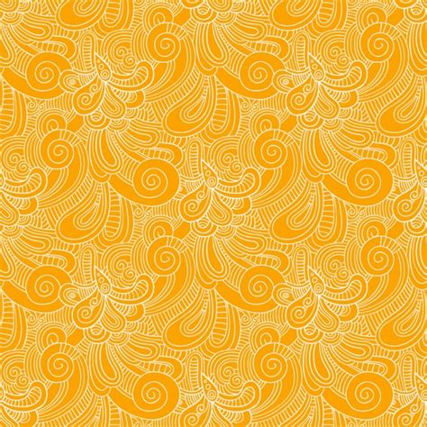 vector pattern free commercial use yellow swirls pattern vector free download