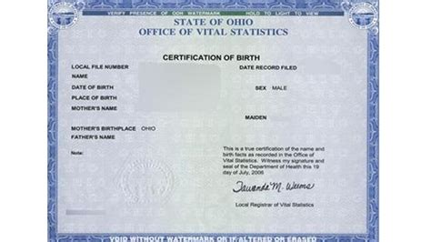 Ohio Vital Records Birth Certificate Ohio To Open Access To Adoptee S Birth Certificates