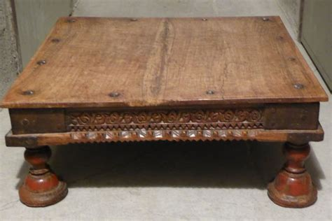 table indienne ancienne table basse indienne clasf