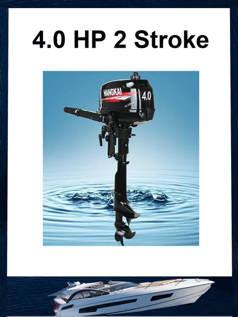 boat and motor store aliexpress buy 2015 brand new hangkai 4hp outboard