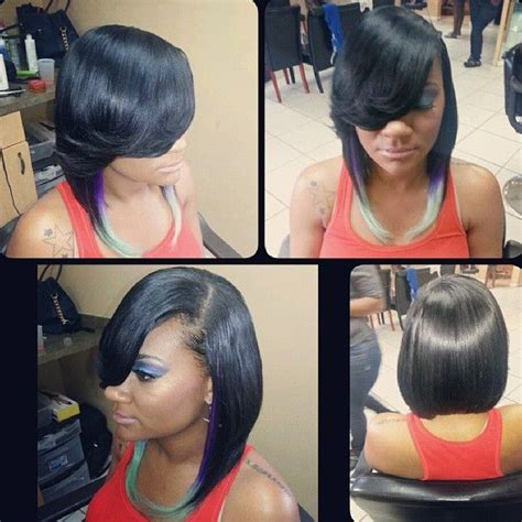 Bob Weaves For Black Women Instagram | quickweave instagram photos webstagram the best