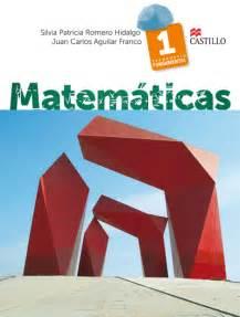 libro de matemticas contestado de 1 de secundaria 2016 matem 225 ticas 1 serie fundamental ediciones castillo s a