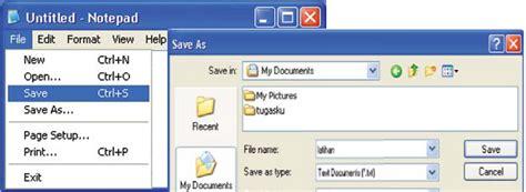 membuat dokumen html membuat dokumen dengan notepad media belajar