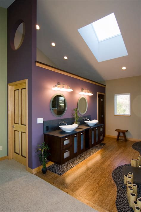 dark purple bathrooms 23 purple bathroom designs decorating ideas design