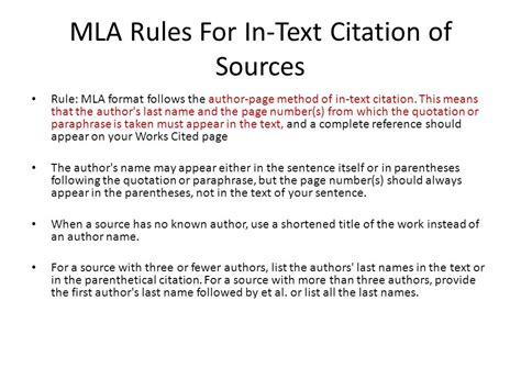 Pdf Correct Mla Citation For An Article by How To Cite An Article In Mla Format Without Author
