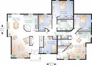 multigenerational house plans with two kitchens multigenerational house plans smalltowndjs com