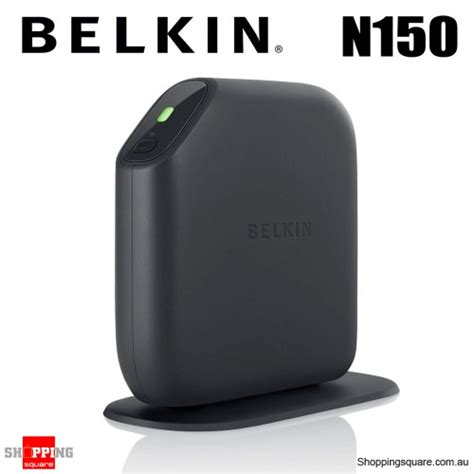 Router Belkin N150 Belkin N150 F7d1301au Wireless Router 4 Port Switch
