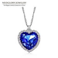 Heart ocean love necklaces amp pendants for women fashion jewelry