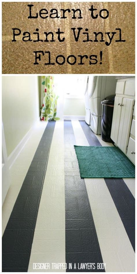 25 best ideas about painted vinyl floors on