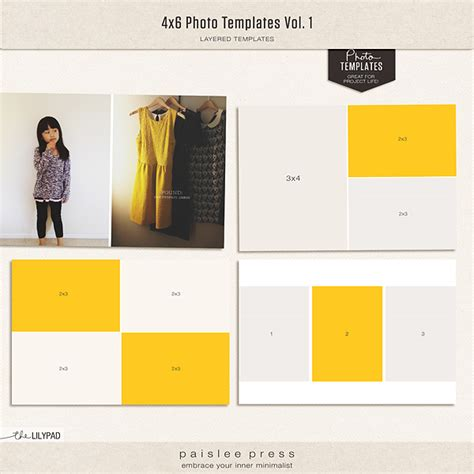 4x6 photo card template free digital scrapbooking templates templates the lilypad