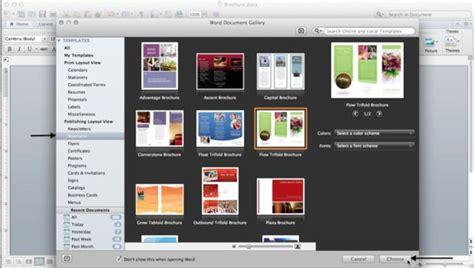 brochure templates word mac word flyer templates for mac mac brochure templates