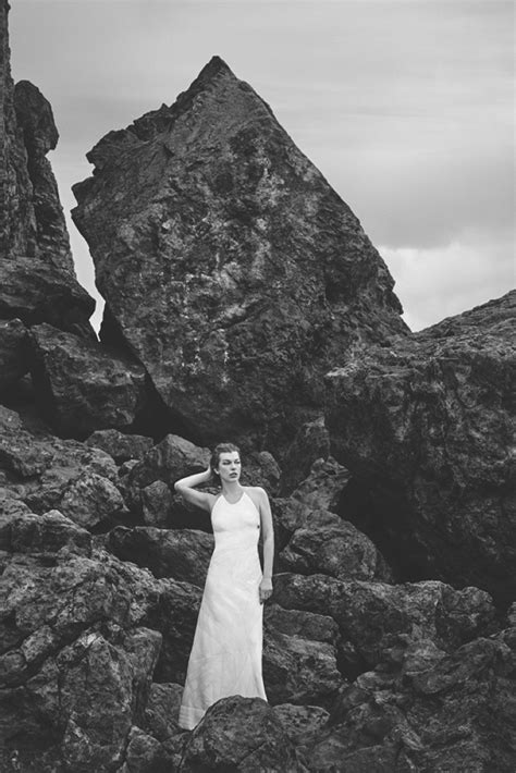 Seaside Photo Shoot For Harpers Bazaar Features Mysterious Dusky Skinned by Milla Jovovich S Bazaar Spain March 2016 Photoshoot