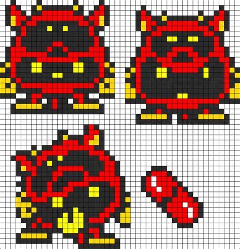 mario perler bead patterns dr mario virus perler bead pattern pixelart