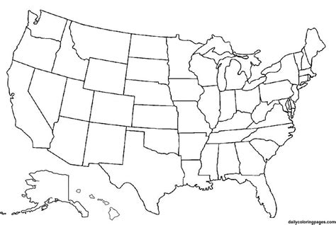 america map outline blank blank map of america image map pictures