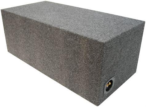 Box Speaker 15 car audio dual 15 inch ported subwoofer bass speaker sub