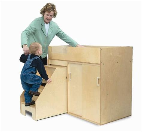 toddler changing table brothers step up toddler changing table wb0648