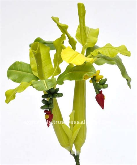 mini banana tree banana tree mini 6 quot artificial flowers thai clay handmade