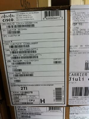 Cisco 2960 Series Type Ws 2960 24tt L V03 24 Port 1 ws c2960 24tt l