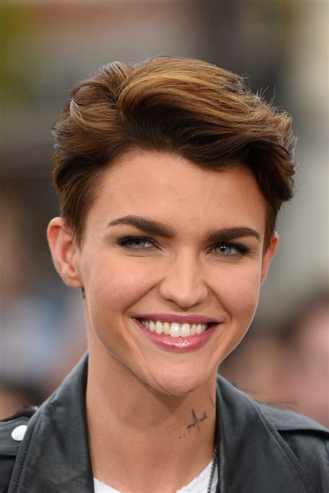 ruby rose before after haircuts ruby rose long and short hair beauty and makeup looks