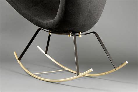 designboom rocking chair sayar garibeh form graceful great egret rocking chair