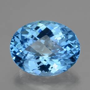 Spessartite Garnet 18 40ct swiss blue topaz 40ct oval from brazil gemstone