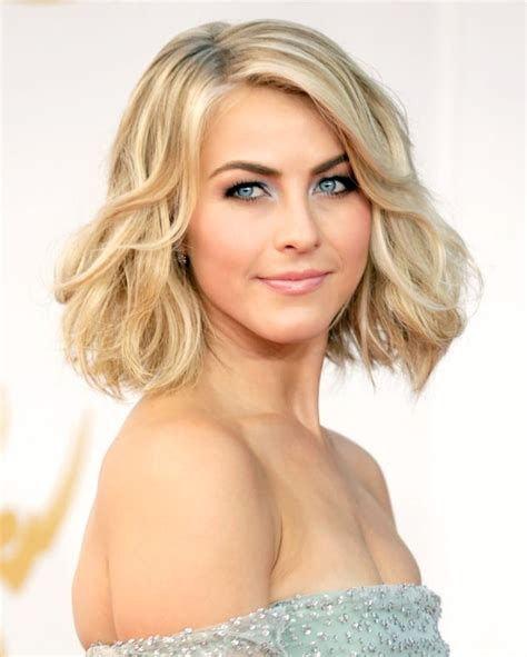 juliannehough curly bob julianne hough celebs with bob hairstyles us weekly