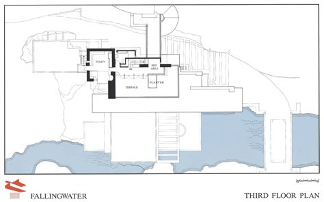 Fallingwater Floor Plan by Robert Lam Arch1390 September 2011
