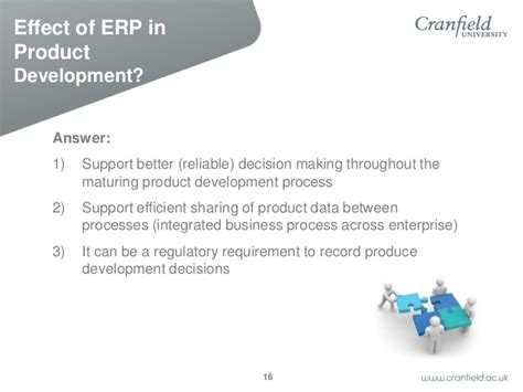 product design effect on productivity es the effect of erp on product development lifecycle