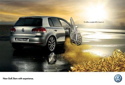 volkswagen israel volkswagen golf quot volkswagen golf rings quot print ad by