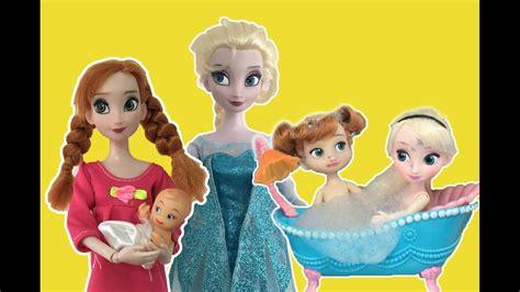 elsa film in english frozen full movie 2 in english elsa anna dolls playing