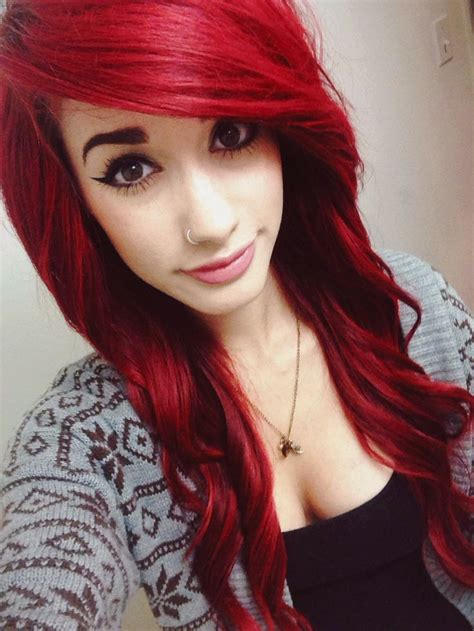 emo hairstyles for redheads 25 best ideas about red scene hair on pinterest emo