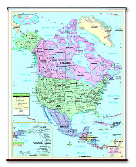 school roller wall maps one map place inc