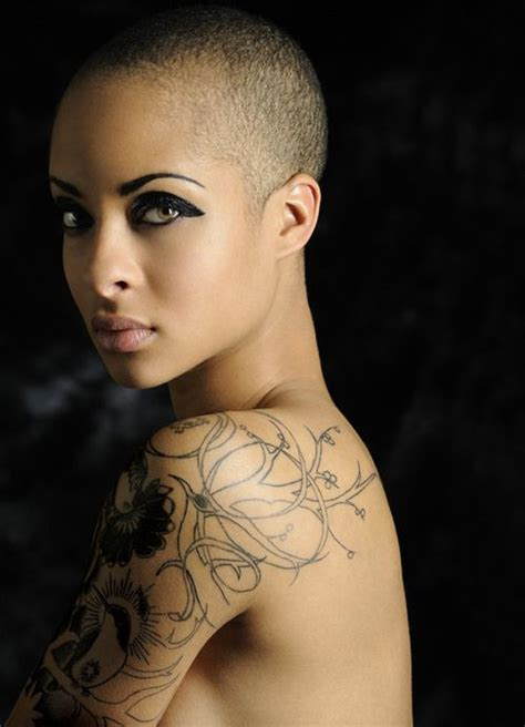 beautiful tattooed women buzz cut buzz cut buzz cuts