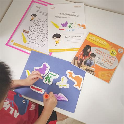 printable indonesia montessori printable gratis anak prasekolah kegiatan seru pulau pulau