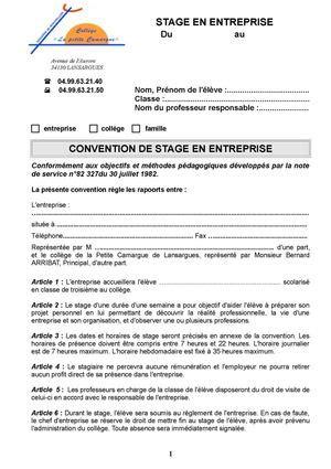 Convention Droit De Passage Modèle