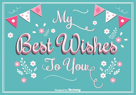 wishes greeting card   vector art stock graphics images