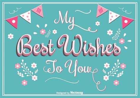 wishes greeting card   vectors clipart graphics vector art