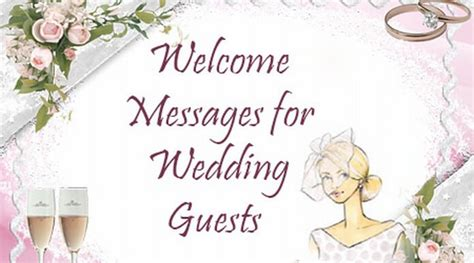 Wedding Message To Guests by Welcome Messages For Wedding Guests Welcome Wishes Quotes