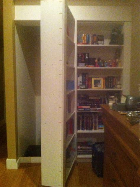 Room Found by Bookcase Opens As Secret Door Stashvault