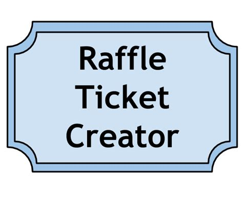 fall tricky tray ticket template